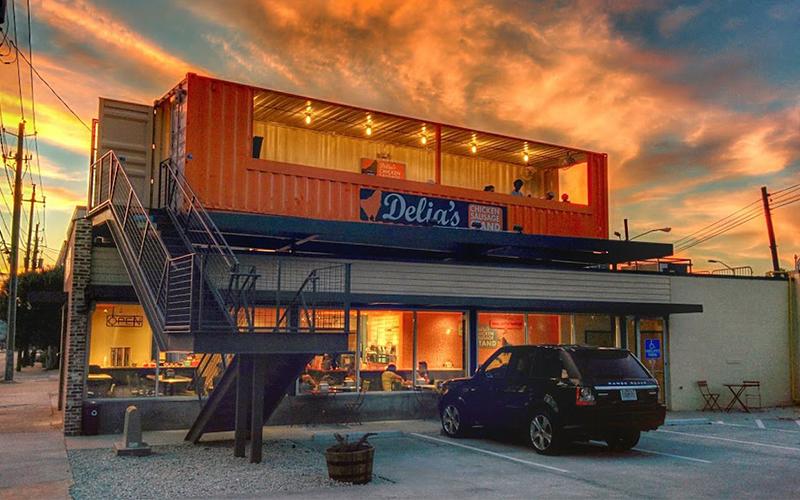 Cómo construir tu propio restaurante hecho de contenedores