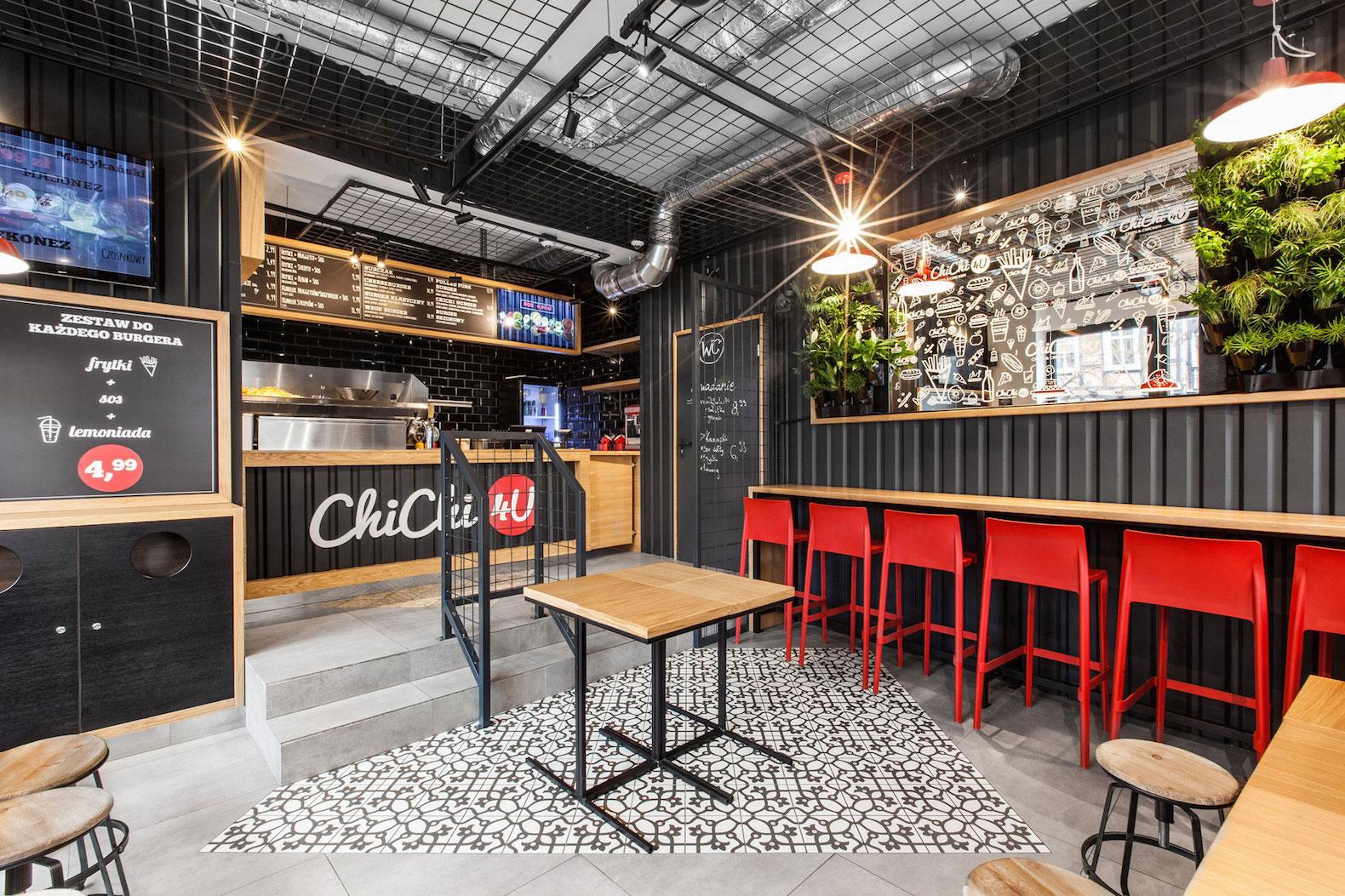 diseño restaurantes container