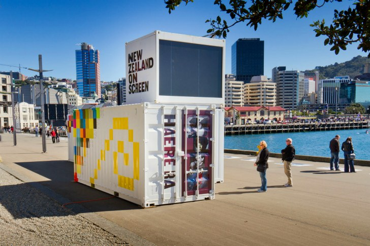 exhibiciones en contenedores