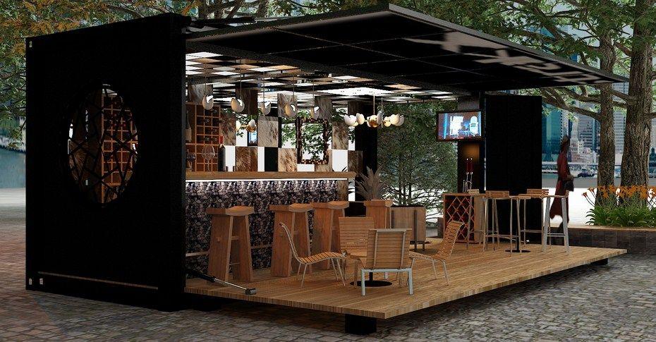 7 ideas para abrir un negocio hecho de contenedores dracontainers corp. Black Bedroom Furniture Sets. Home Design Ideas