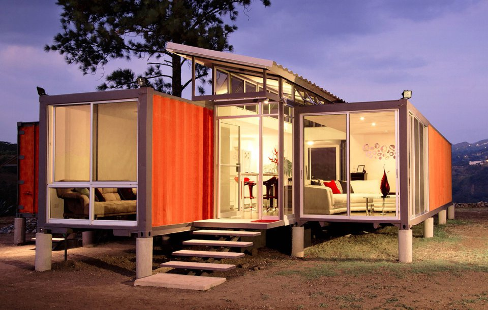 casas de container diseños