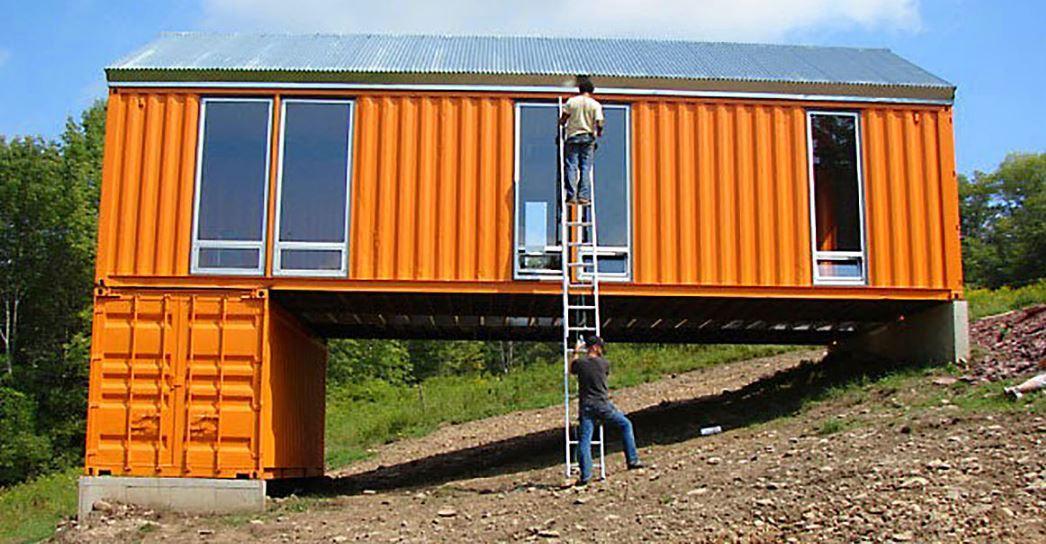 como acondicionar un contenedor para vivienda